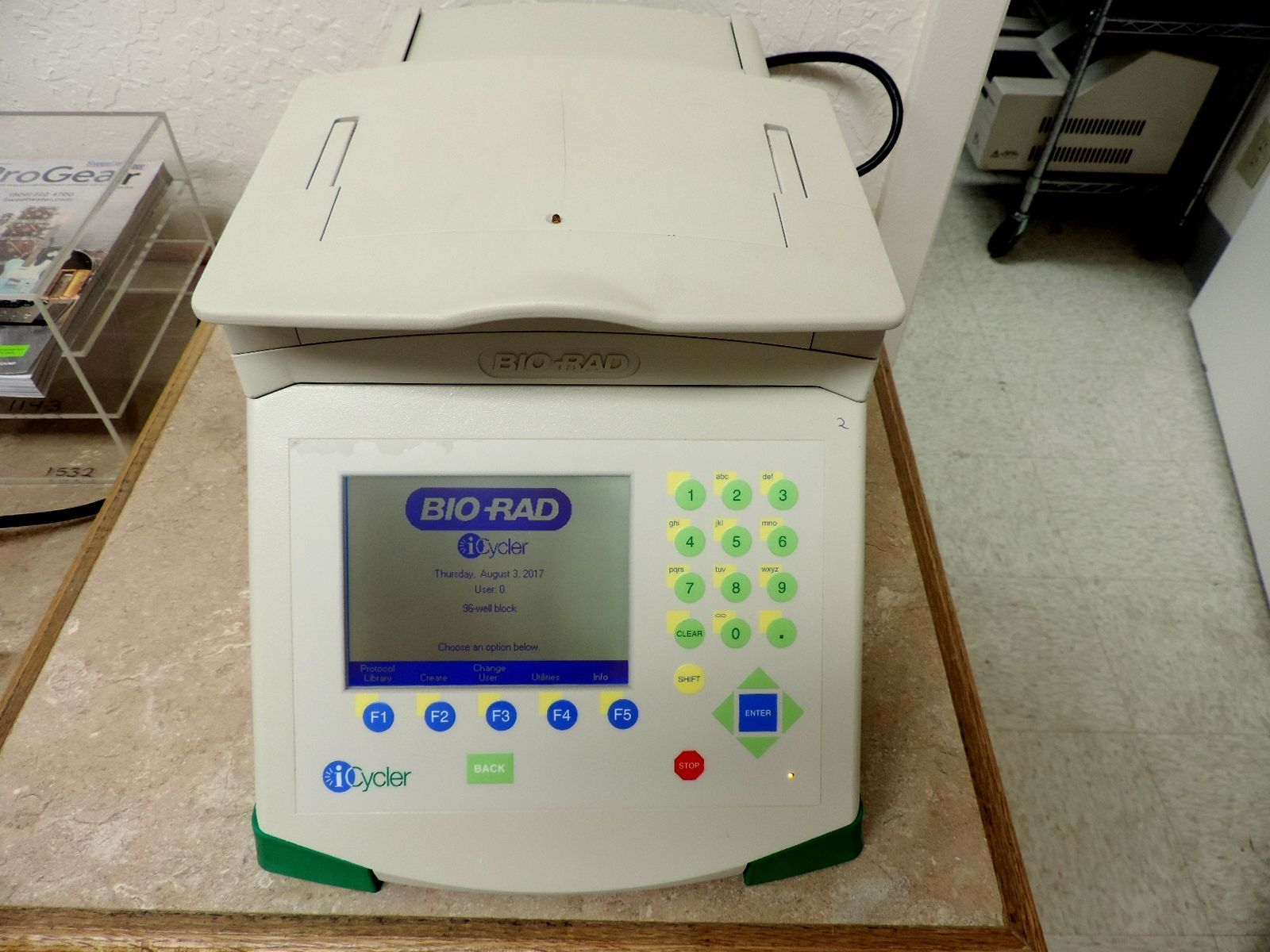 BioRad I-Cycler PCR Thermal Cycler