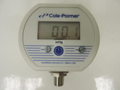 Cole-Parmer NEMA Digital Gauge Model 68935-36
