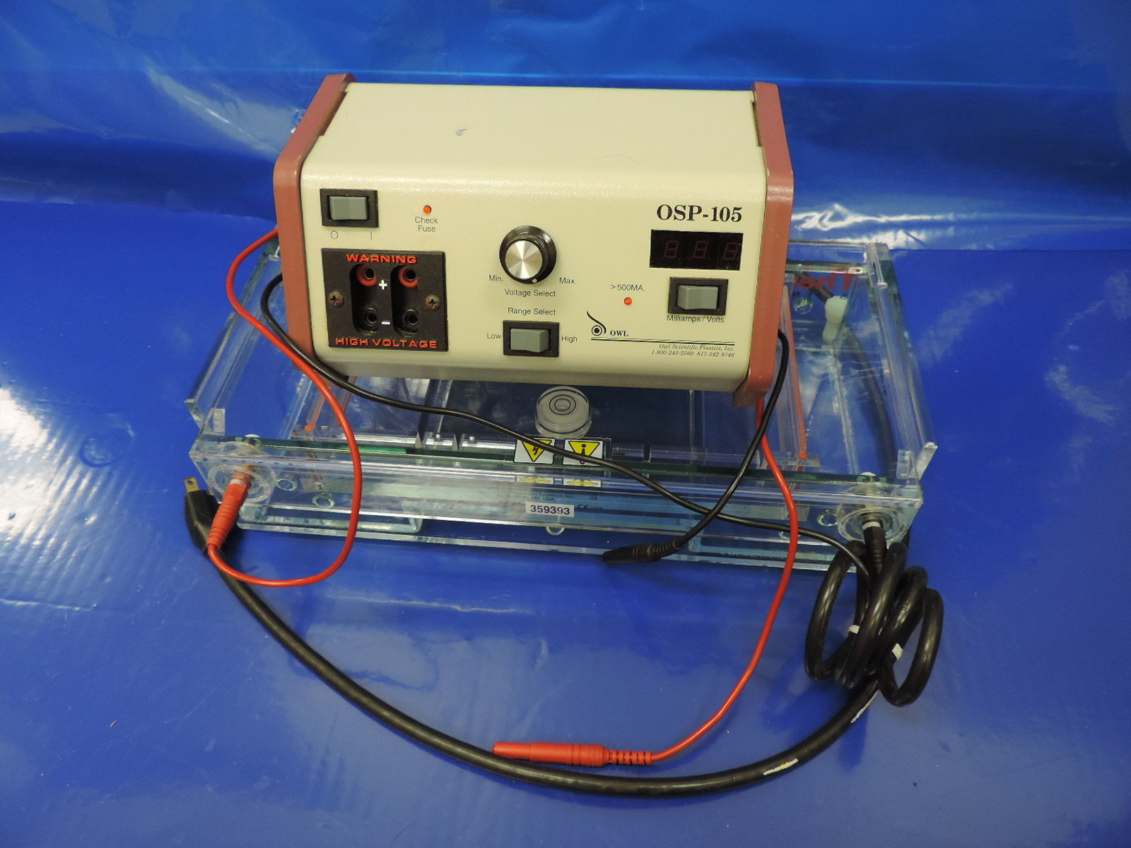 Thermo A1 Electrophoresis System with Power Supply